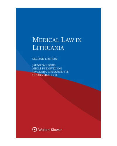 Medical Law in Lithuania, 2nd edition