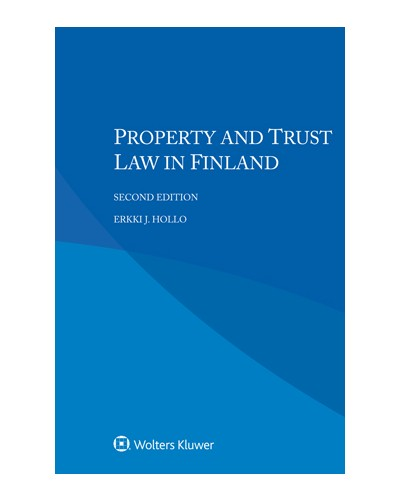 Property and Trust Law in Finland, 2nd Edition