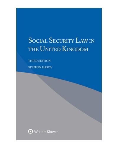 Social Security Law in the United Kingdom, 3rd Edition