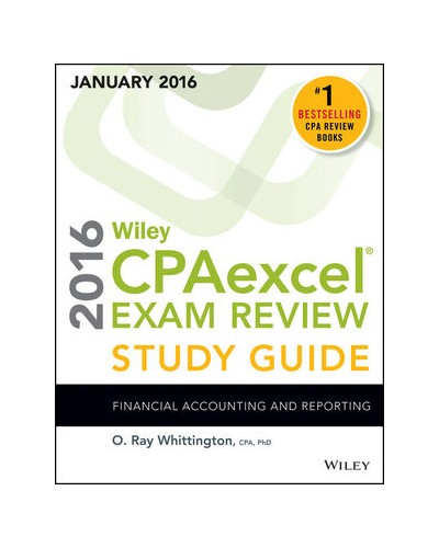Wiley CPAexcel Exam Review 2016 Study Guide (January): Financial