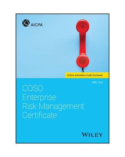 COSO Enterprise Risk Management Certificate