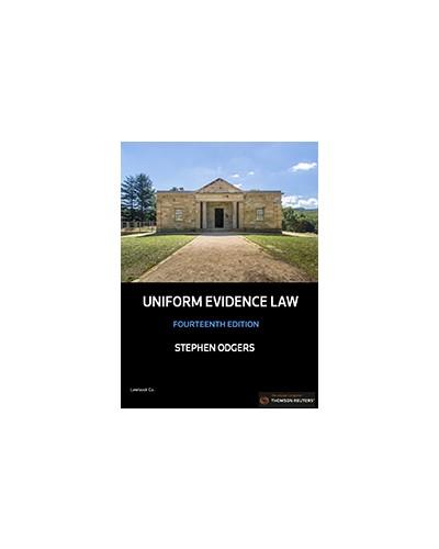 Uniform Evidence Law, 14th Edition