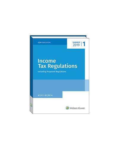 Income Tax Regulations (Summer 2019)