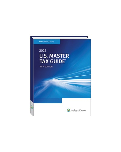 U.S. Master Tax Guide (2022)