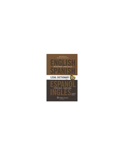 Essential English-Spanish and Spanish-English Legal Dictionary, 2nd Edition