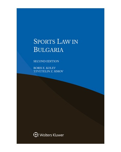 Sports Law in Bulgaria, 2nd Edition