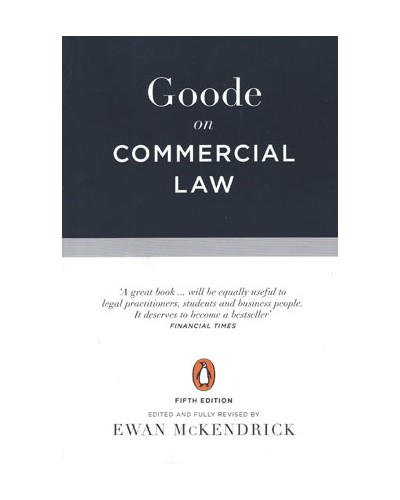 Goode on Commercial Law, 5th Edition