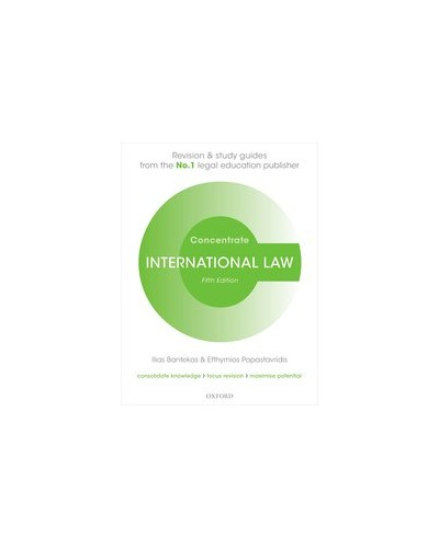 Concentrate: International Law, 5th Edition