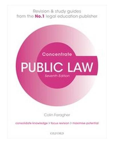 Concentrate: Public Law, 7th Edition
