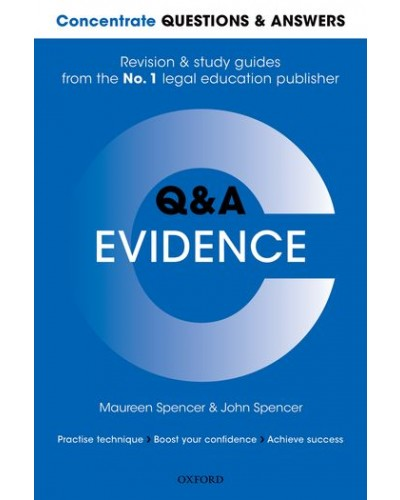 Concentrate Q&A: Evidence, 2nd Edition - Q&A Series (Oxford