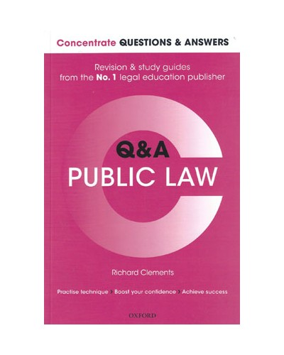 Concentrate Q&A: Public Law, 2nd Edition