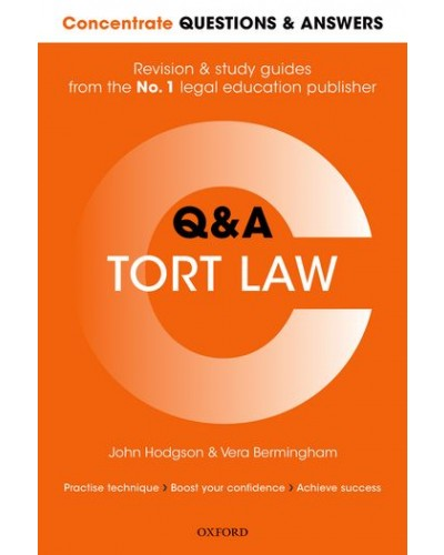 Concentrate Q&A: Tort Law