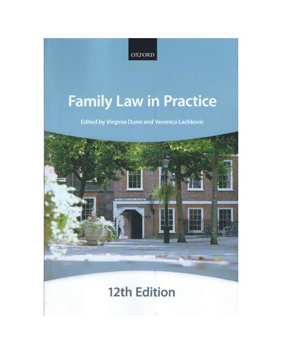 Bar Manual: Family Law in Practice, 12th Edition