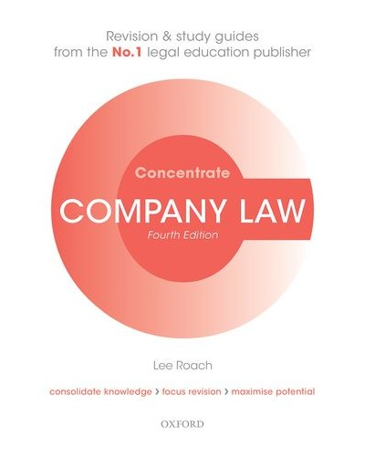Concentrate: Company Law, 5th Edition