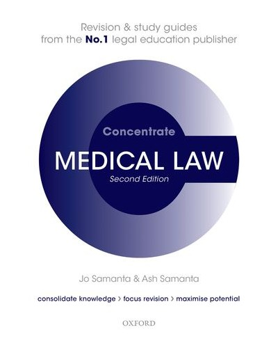 Concentrate: Medical Law, 3rd Edition