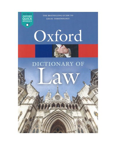 A Dictionary of Law, 9th Edition