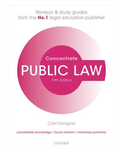 Concentrate: Public Law, 5th Edition