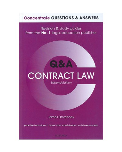 Concentrate Q&A: Contract Law, 2nd Edition