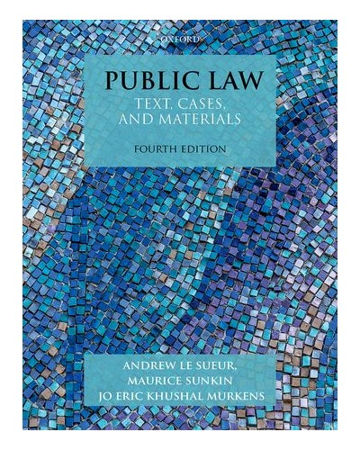 Cases and Materials Public Law Text