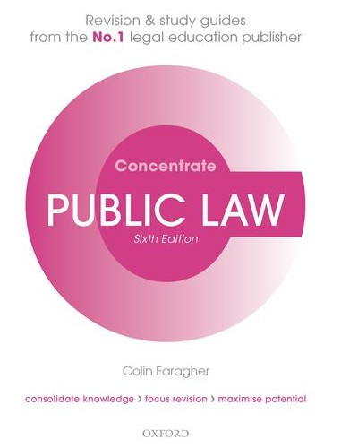 Concentrate: Public Law, 6th Edition