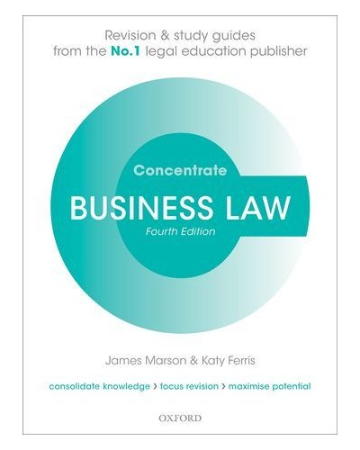 Concentrate: Business Law, 4th Edition