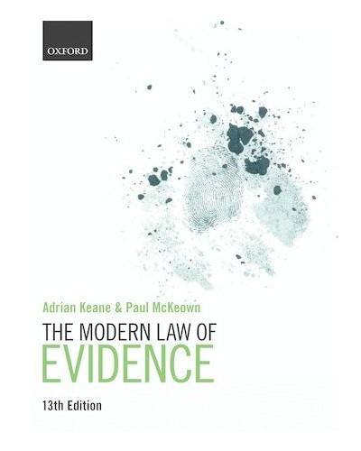 The Modern Law of Evidence, 13th Edition