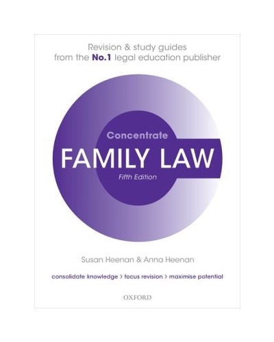 Concentrate: Family Law, 5th Edition