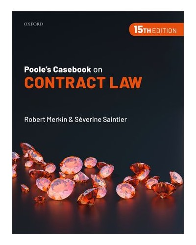Poole's Casebook on Contract Law, 15th Edition