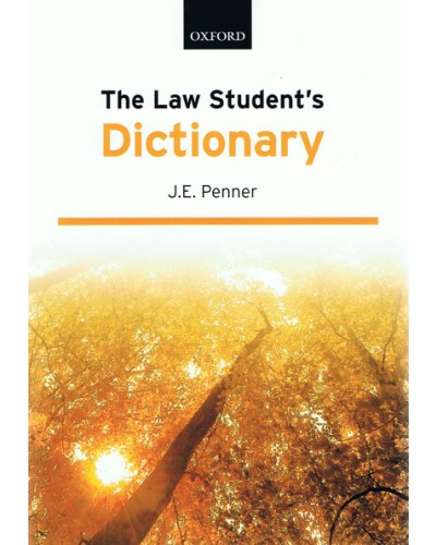 The Law Student's Dictionary, 13th Edition