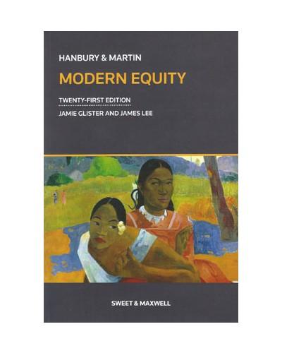 Hanbury & Martin: Modern Equity, 21st Edition