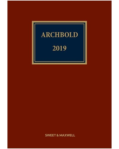 Archbold: Criminal Pleading, Evidence and Practice 2019 (CD & Print