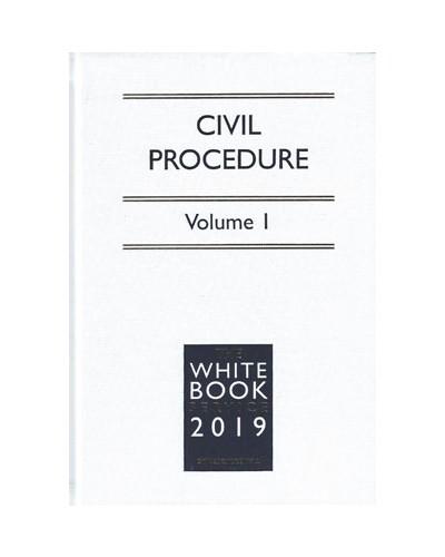 The White Book Service 2019