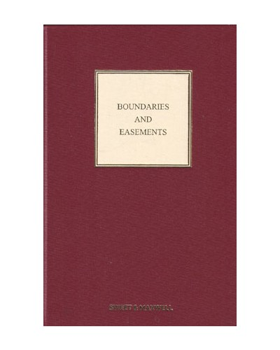 Boundaries and Easements, 7th Edition