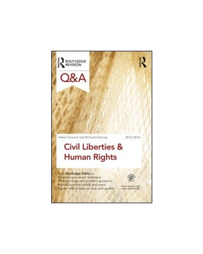 Routledge Q&A Civil Liberties & Human Rights 2013-2014, 6th Edition