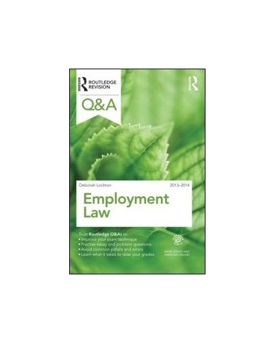 Routledge Q&A Employment Law 2013-2014, 8th Edition