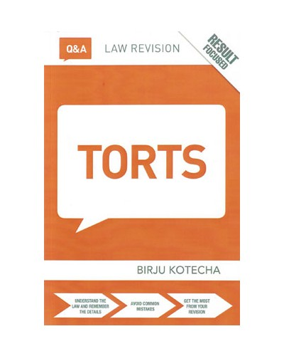 Routledge Q&A Torts, 11th Edition