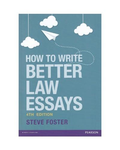Writing legal essays