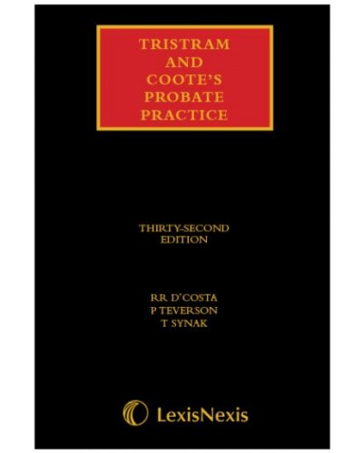 Tristram and Coote's Probate Practice, 32nd Edition