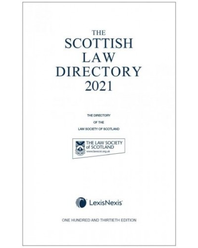 The Scottish Law Directory 2021