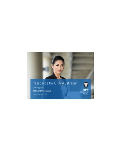 CPA Australia: Ethics and Governance (Passcards)