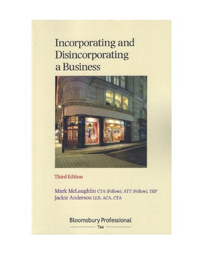 Incorporating and Disincorporating a Business, 3rd Edition