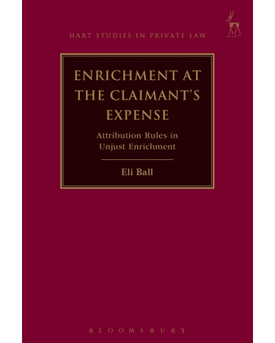 Enrichment at the Claimant's Expense: Attribution Rules in Unjust Enrichment