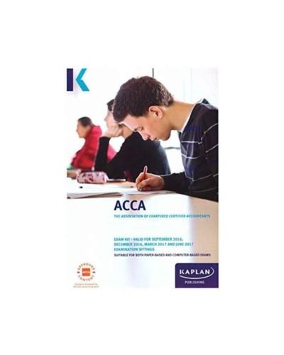 ACCA P2 Corporate Reporting (Exam Kit) - ACCA Series (Kaplan