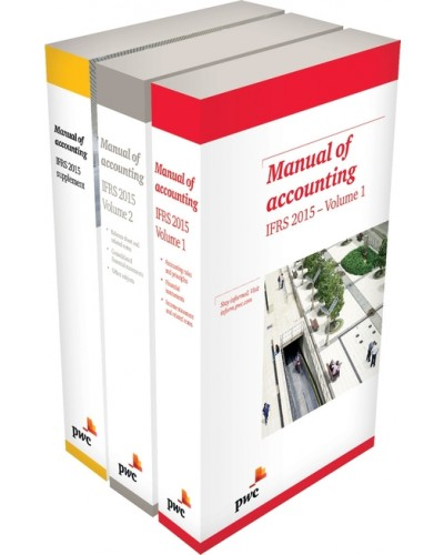 pwc manual of accounting ifrs 2016 set financial reporting ifrs rh pbookshop com Chart of Accounts General Ledger