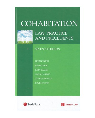 Cohabitation Law Practice And Precedents 7th Edition Family Law Law
