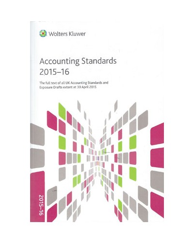 CCH Accounting Standards 2015-16