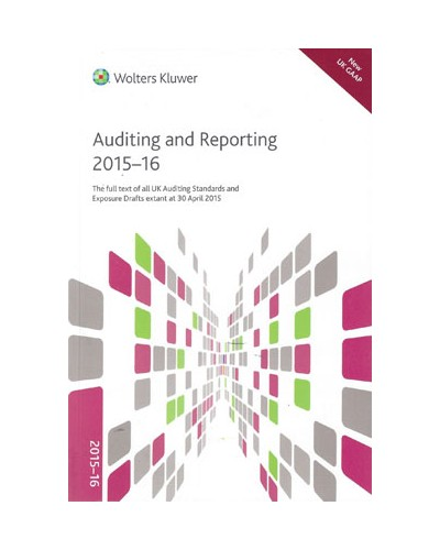 CCH Auditing and Reporting 2015-16