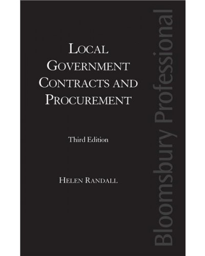 Local Government Contracts and Procurement, 3rd Edition