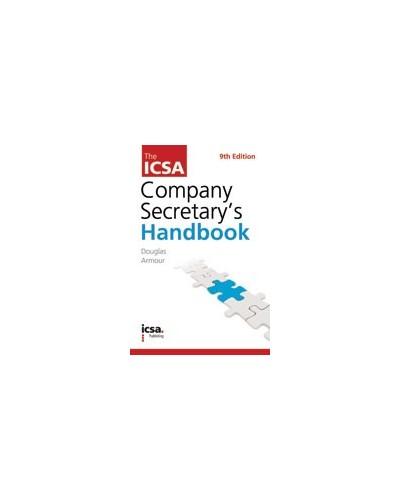 The ICSA Company Secretary's Handbook, 9th edition