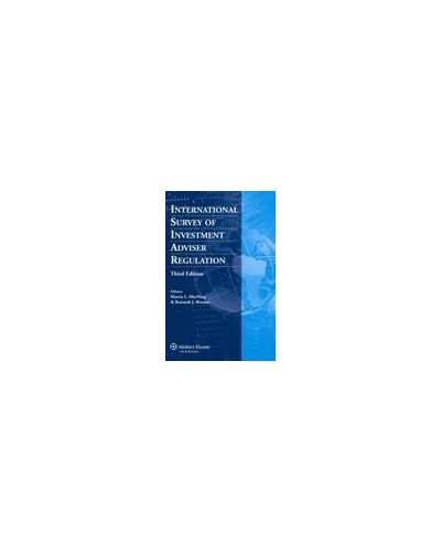 International Survey of Investment Adviser Regulation - 3rd edition